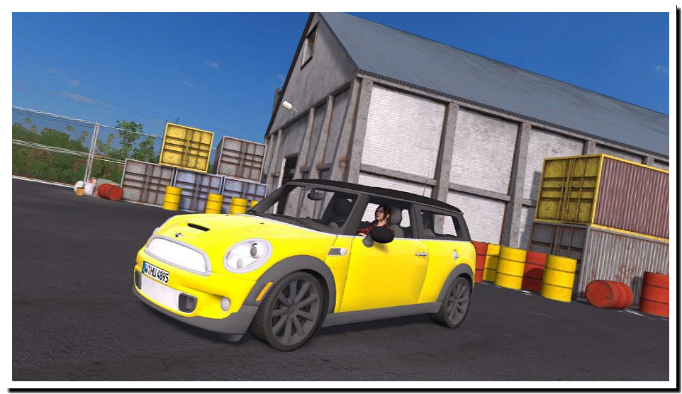 Mini Clubman v 1.0 - FS17 моды