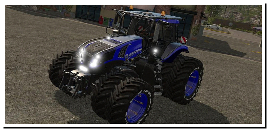 New Holland T8 Ultra v 1.0.2 - FS19 моды